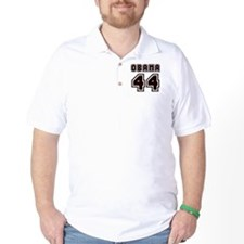 Obama 44 Black T-Shirt