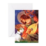 Angel/Sealyham L1 Greeting Cards (Pk of 10)