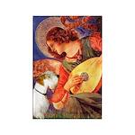 Angel/Sealyham L1 Rectangle Magnet (100 pack)