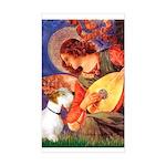 Angel/Sealyham L1 Sticker (Rectangle)