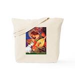 Angel/Sealyham L1 Tote Bag