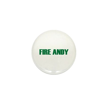 Fire Andy Mini Button (10 pack)