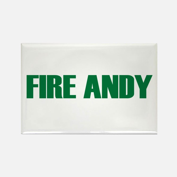 Fire Andy Rectangle Magnet