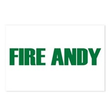 Fire Andy Postcards (Package of 8)