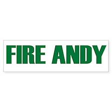 Fire Andy Bumper Bumper Sticker