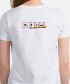 Mortified Is My BFF - Women's T (white)
