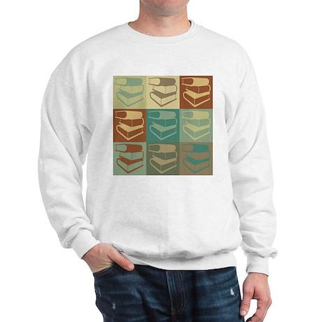 Library Work Pop Art Sweatshirt