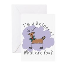 Funny Reindeer Greeting Cards (Pk of 10)