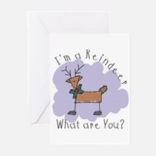 Funny Reindeer Greeting Cards (Pk of 10)