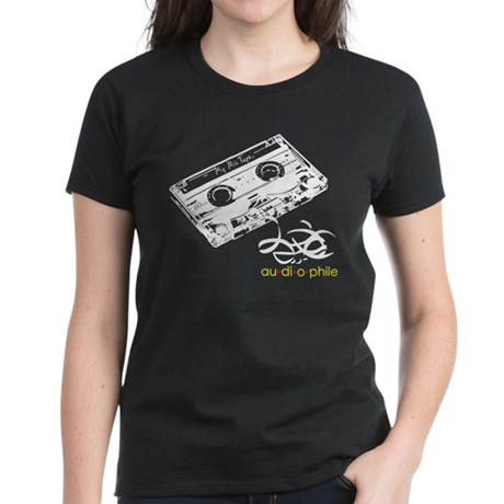 Audiophile Women's Dark T-Shirt