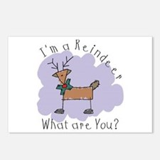 Funny Reindeer Postcards (Package of 8)