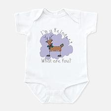 Funny Reindeer Infant Creeper