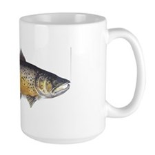 Brown Trout Art Mug