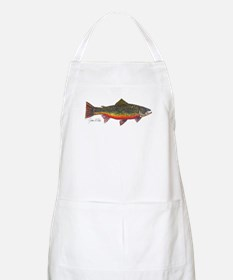 Brook Trout BBQ Apron
