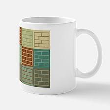 Laying Bricks Pop Art Mug