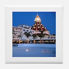 Hotel Del Holiday Tile Coaster