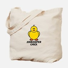 Zookeeper Chick Tote Bag