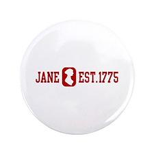 """Jane Est.1775 3.5"""" Button"""