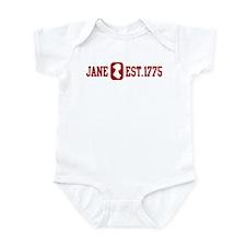 Jane Est.1775 Infant Bodysuit