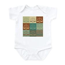 Law Pop Art Infant Bodysuit