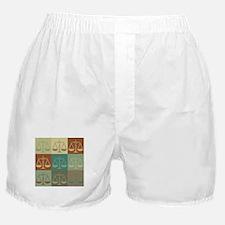 Law Pop Art Boxer Shorts
