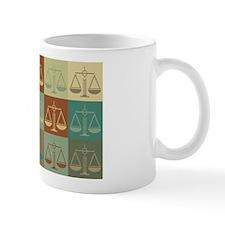 Law Pop Art Small Mugs