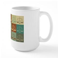 Law Pop Art Ceramic Mugs