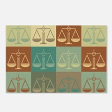 Law Pop Art Postcards (Package of 8)