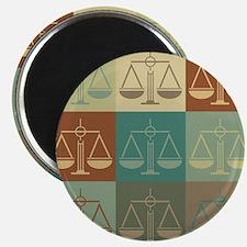 Law Pop Art Magnet