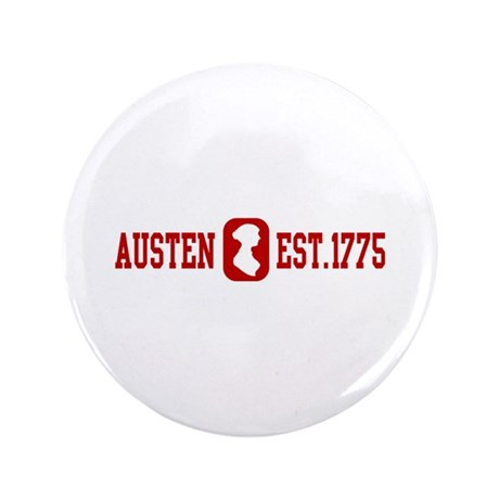 "Austen Est.1775 3.5"" Button"