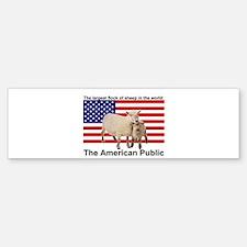 American Public Bumper Bumper Bumper Sticker