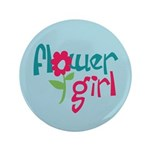 "Flower Girl 3.5"" Button (100 pack)"
