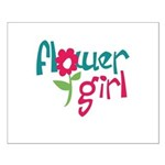 Flower Girl Small Poster