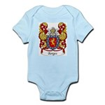 Borges Family Crest Infant Creeper