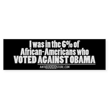 I was in the 6% Bumper Sticker (10 pk)