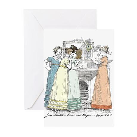 Pride & Prejudice Ch 16 Greeting Cards (Pk of 10)