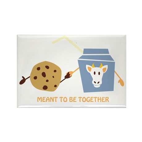 Cookies and Milk Rectangle Magnet (10 pack)