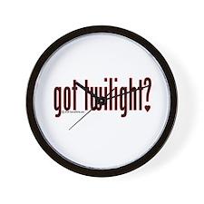 Got Twilight? Wall Clock