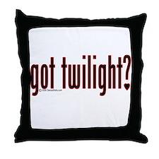 Got Twilight? Throw Pillow