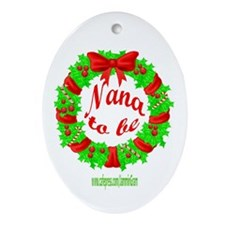 NANA2B-XMAS Oval Ornament