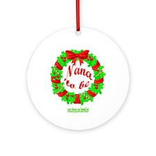 NANA2B-XMAS Ornament (Round)