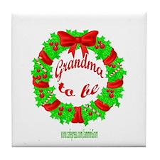 GRANDMA2B3-XMAS Tile Coaster