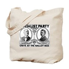 VOTE FOR EUGENE DEBS Tote Bag