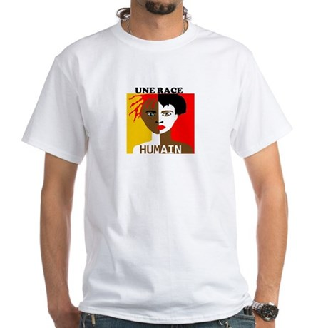 Anti-Racism T-Shirt in White
