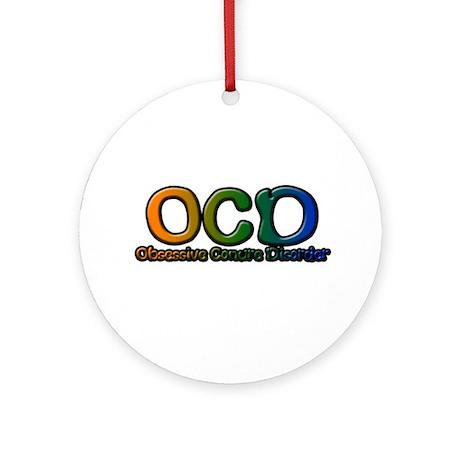 Obsessive Conure Disorder Ornament (Round)