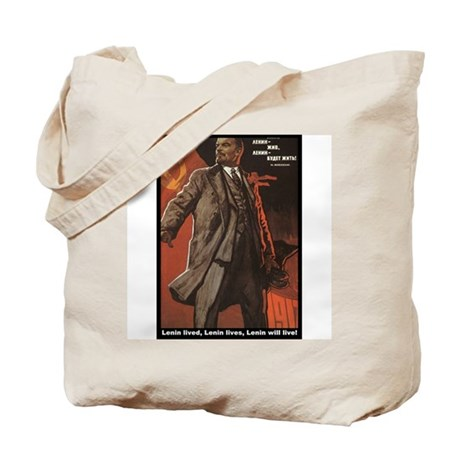 Lenin Lives! Tote Bag
