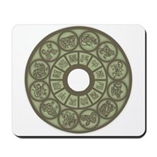 Chinese Zodiac Coin Mousepad