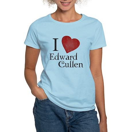 I Love Edward Cullen Women's Light T-Shirt