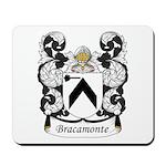 Bracamonte Family Crest Mousepad