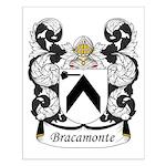 Bracamonte Family Crest Small Poster